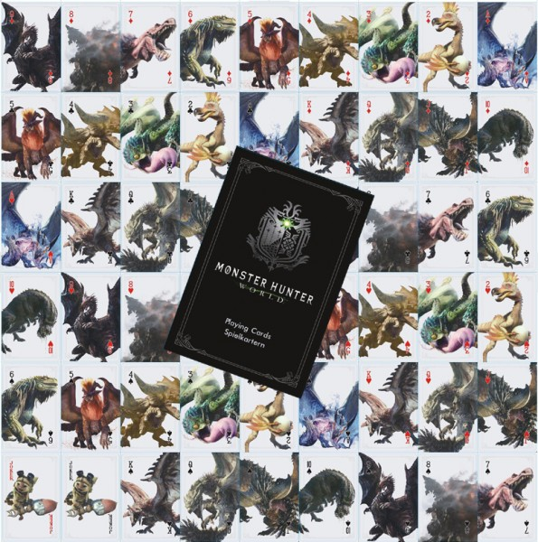 Monster Hunter World Spielkarten