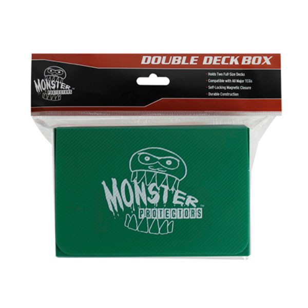 Monster Magnetic Double Deck Box Green