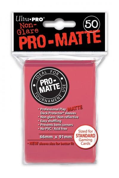 UP Pro-Matte Sleeves furchsia (50 ct.)
