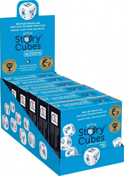Rory's Story Cubes Actions (6 ct.) DE/FR/IT