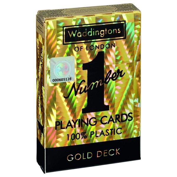 Waddington's No. 1 Spielkarten Gold