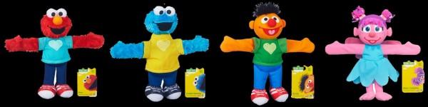 Sesame Street Hugs Forever 23cm Plush (12 ct.)