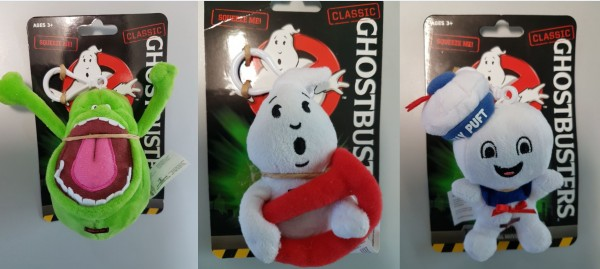 Ghostbusters Talking Plush Clip-On Display (12 ct)