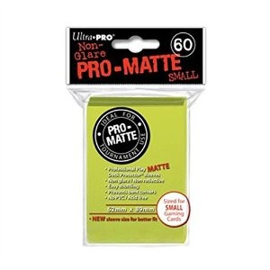 UP Pro-Matte Sleeves Japan bright yellow (60 ct.)