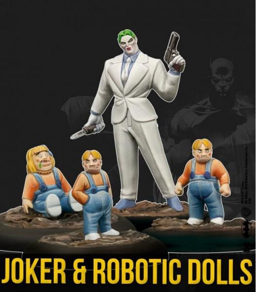 Batman Miniature Game - Joker & Robotic Dolls