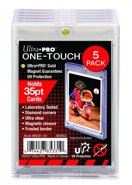 UP One-Touch Card Holder (35 pt.) (5-Pack)