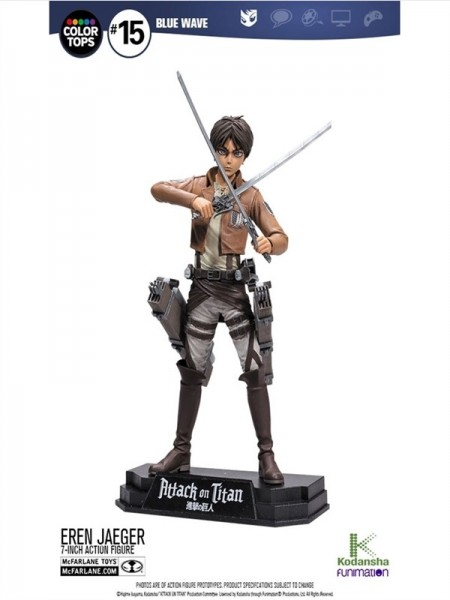 Attack on Titan - Eren Jaeger 17 cm Color Tops