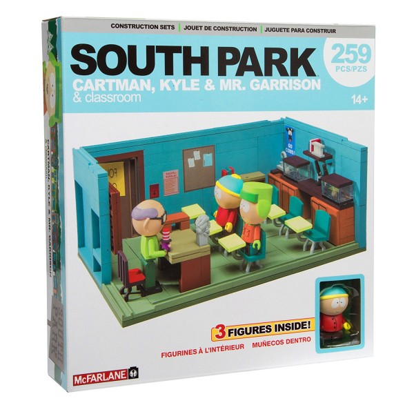 South Park Building Set - Mr. Garrison's Classroom