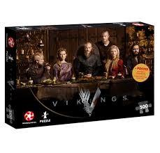 Vikings - Ragnar's Court Puzzle/500 Teile schwarz