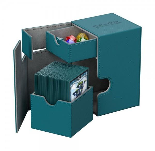 UG Flip`n`Tray Deck Case 100+ XenoSkin Petrolblau