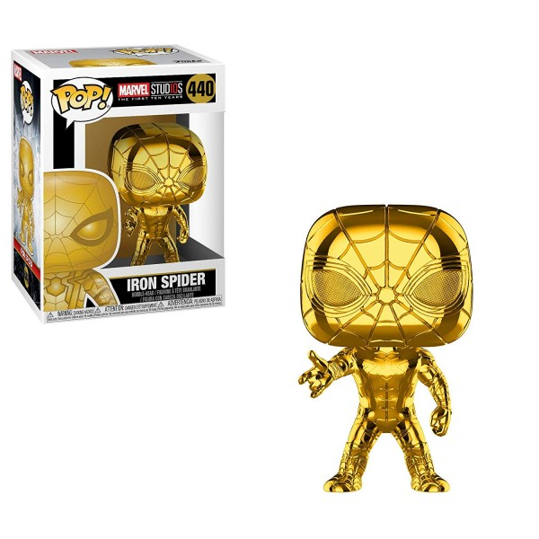 POP - Marvel Studios 10 - Iron Spider (Chrome)