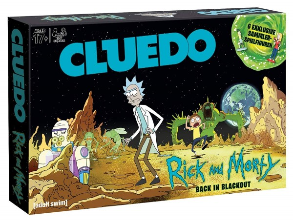Cluedo - Rick & Morty