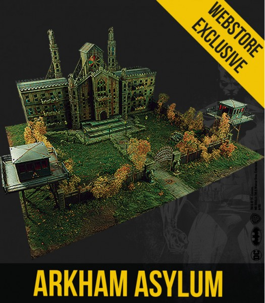 Batman Miniature Game - Arkham Asylum