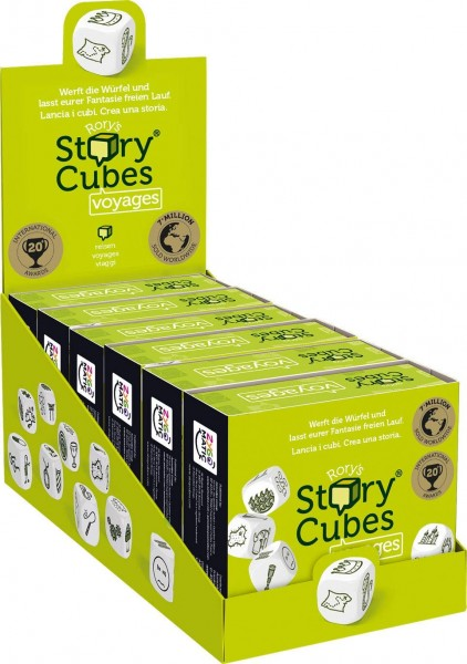 Rory's Story Cubes Voyages (6 ct.) DE/FR/IT