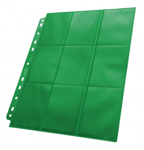 UG 18-Pocket Pages Supreme Side-Loading Green 50ct