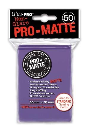 UP Pro-Matte Sleeves purple (50 ct.)