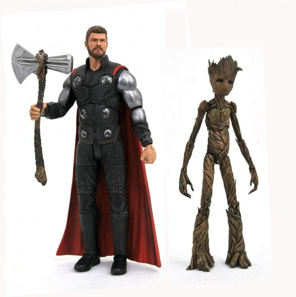 Marvel Select - Avengers 3 Thor & Groot