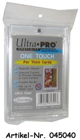 UP One-Touch Card Holder (thick cards, 75pt)