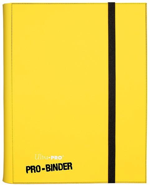 UP Pro Binder für 360 Karten yellow/gelb