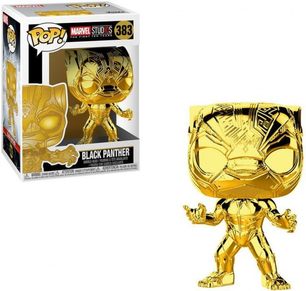 POP - Marvel Black Panther (Chrome)