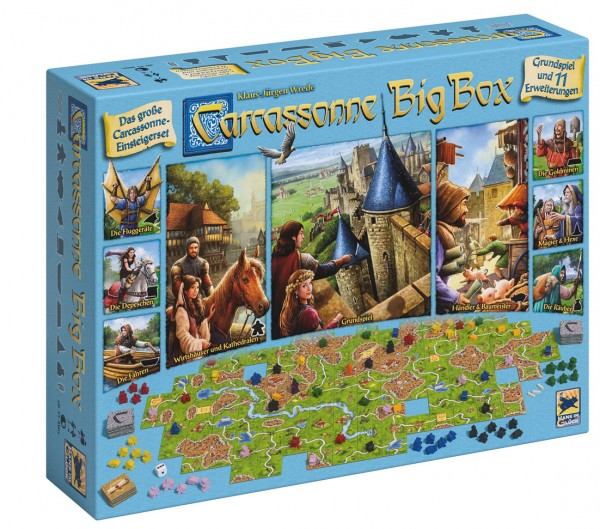 Carcassonne Big Box DE