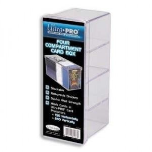 UP Four Compartment Card Box (klar)