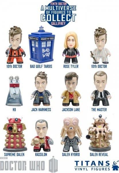 Dr. Who - 10th Doctor Gallifrey Collection (20 ct)