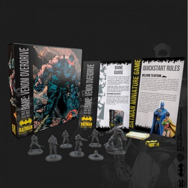 Batman Miniature Game Bat-Box Bane:Venom Overdrive