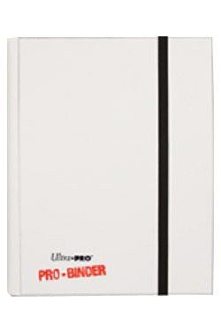 UP Pro Binder für 360 Karten white/weiß