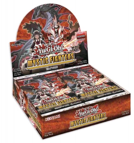 Yu-Gi-Oh! Mystic Fighters (Booster) EN
