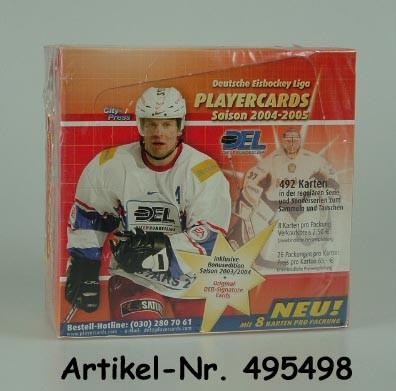 2004-05 DEL Playercards