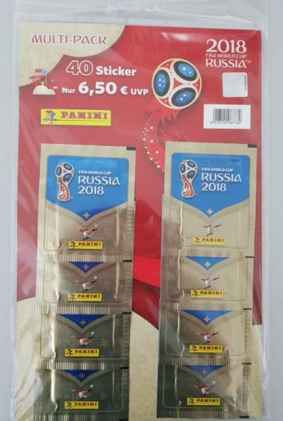 2018 FIFA World Cup Sticker (8er-Multi-Pack) DE