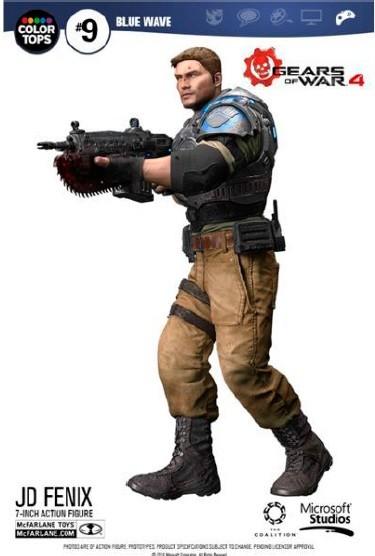 Gears of War 4 - JD Fenix 18 cm Color Tops