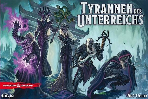 Tyrannen des Unterreichs - D & D Brettspiel