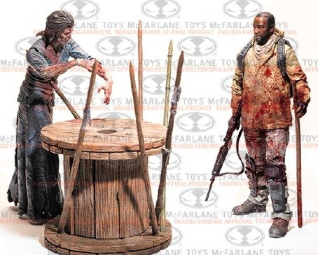 The Walking Dead TV - Morgan Jones & Walker Deluxe