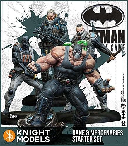 Batman Miniature Starter Set - Bane & Mercenaries