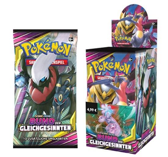 Pokémon Cards SM11 Bund d.Gleichgesinnten Boo 18er