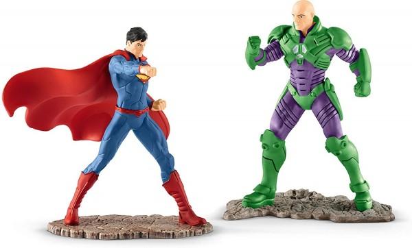 SCHLEICH - Justice League, Superman vs Lex Luthor