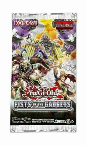 Yu-Gi-Oh ! Fist of the Gadgets (Booster) DE