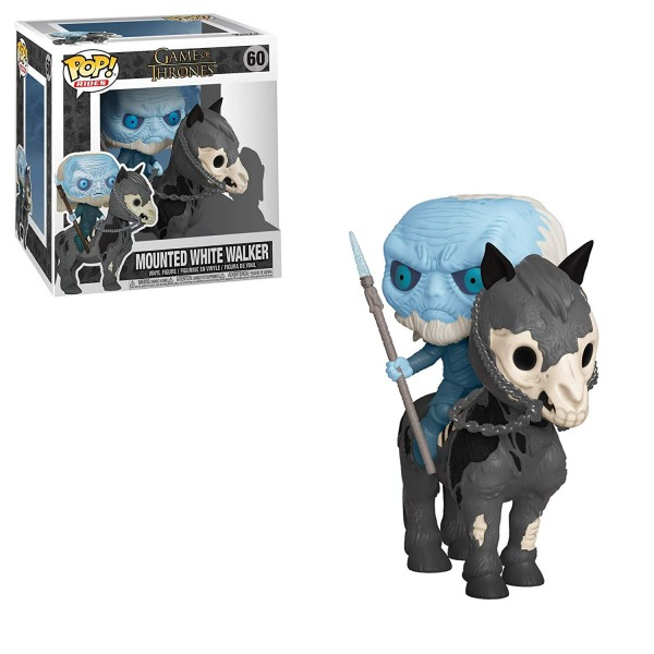 POP RIDES - Game of Thrones - Mounted White Walker