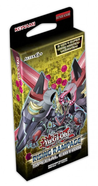 Yu-Gi-Oh ! Rising Rampage Special Edition DE