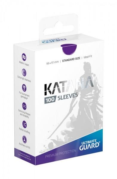 UG Katana Sleeves Standard Violett 100 ct.