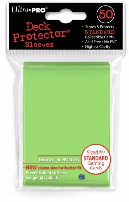 UP Deck Protector Sleeves Lime Green (50 ct.)