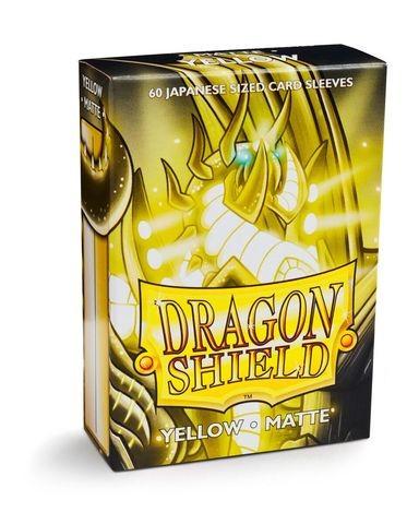 Dragon Shield Japanese Sleeves Matte Yellow (60ct)