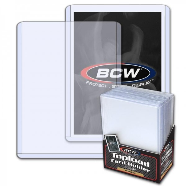 """BCW Premium Topload 3 x 4"""" (25 ct.)"""