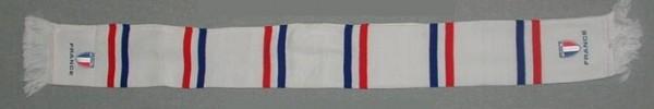 Fanschal Frankreich (bestickt)
