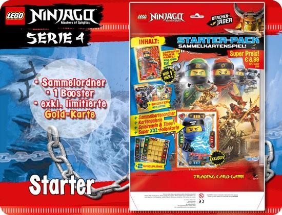 LEGO Ninjago Trading Card Game 4 (Starter-Pack) DE