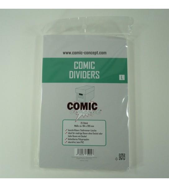 Comic Concept Comic Dividers L 184 x 285mm (25ct.)