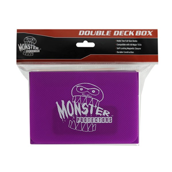 Monster Magnetic Double Deck Box Purple
