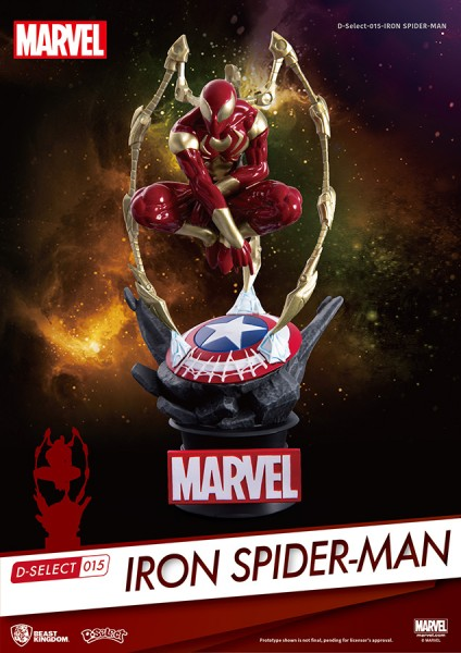 Marvel Iron Spider-Man Diorama Stage 015